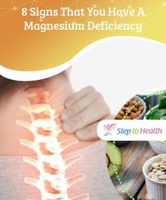 8 Signs That You Have A #Magnesium Deficiency  Although we don't realize it, magnesium is one of the fundamental #minerals in our #bodies. Find out if you're suffering from a magnesium #deficiency.