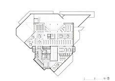 Bendigo Library,Floor Plan