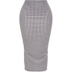 Shape Milley Gingham Midi Skirt ($21) ❤ liked on Polyvore featuring skirts, mid calf skirts, calf length skirts, gingham skirt, midi skirt and gingham midi skirt