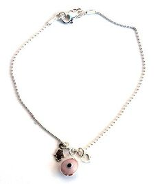 Pink Evil Eye & Hamsa Charm Silver Anklet MIZZE Made for Luck Jewelry http://www.amazon.com/dp/B00B1OIJNY/ref=cm_sw_r_pi_dp_S8N7wb0QKD5HV