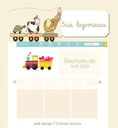 LAYOUT EXCLUSIVO  Vitrine para loja elo7 inclui: Backgroud Banner Imagem de perfil Cores combinando com seu layout Cadastro em mais de 300 sites de busca para alavancar seus negócios  Combine com a sua loja TEMPLATE PARA BLOG, CARTÃO DE VISITA,  TAG,para produtos, kit loja elo7.  CONSULTE VALORES DE OUTROS PRODUTOS! R$ 65,00