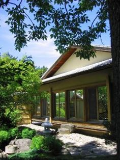 A tea garden is a type of Japanese garden that surrounds, or forms an entrance to, a tea house, where the time honored ritual of the tea ceremony, cha no yu . Japanese Patio Ideas, Pinterest Garden, Tea Ceremony, Patio Design, Garden Landscaping, Entrance, Landscape, Sample Resume, Outdoor Decor