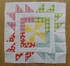 Cute block for sampler quilt