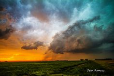 Title: Glorious. The sky paints a perfect color in Kansas.  This listing is for an open edition fine art print in a matte finish,