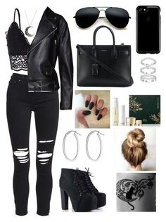 Baddie Outfits Casual, Swag Outfits, Mode Outfits, Grunge Outfits, Cute Casual Outfits, Stylish Outfits, Girls Fashion Clothes, Teen Fashion Outfits, Outfits For Teens