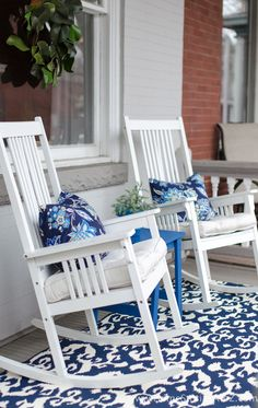 Spring Porch Decorating Ideas with Better Homes and Gardens at Walmart
