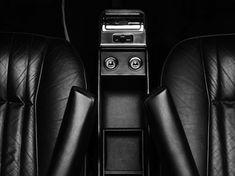 Rolls Royce interior . Black