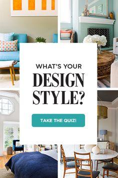 Interior Design and Decorating Style Quiz