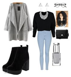"""Untitled #38"" by molu-1 on Polyvore featuring Topshop, Jennifer Meyer Jewelry, Lucky Brand and Aspinal of London"