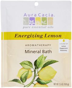 Bath & Body Aura Cacia Euphoric Ylang Ylang Aromatherapy Mineral Bath 2.5 Oz Packet Comfortable And Easy To Wear