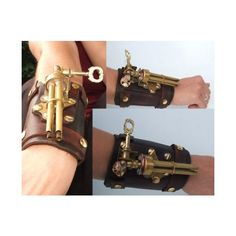 24 Cool Steampunk Weapons from Another Era | Walyou ❤ liked on Polyvore