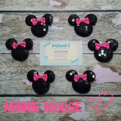 Minnie Mouse hairclip Party Favors!