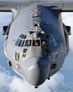 C-130 Hercules, great shot!