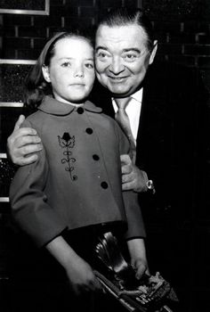 Catharine Lorre and her dad