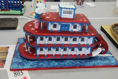 gingerbread riverboat