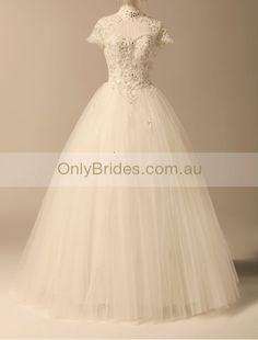 Lace vintage wedding dress