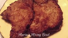 """""""Breaded"""" Pork Chops ~ Low Carb! Staying away from bread and flour isn't always easy. Unless of course you make delicious comfort foods that taste delicous!! I don't eat gluten and follow a low carb lifestyle. I also refuse to cook 2 different ways for myself and my husband. So I have to make … Continue reading """"Breaded"""" Pork Chops ~ Low Carb →"""