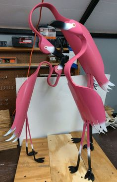 PVC Pipe Birds and stands. on Mercari Pvc Pipe Crafts, Pvc Pipe Projects, Welding Projects, Diy Craft Projects, Woodworking Projects, Pvc Backdrop Stand, Diy Backdrop, Pvc Pipe Fort, Wood Router