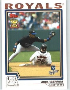2004 Topps #173 Angel Berroa - Kansas City Royals (Baseball Cards) by Topps. $0.88. 2004 Topps #173 Angel Berroa - Kansas City Royals (Baseball Cards)