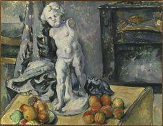 Paul Cézanne (1839–1906)   Still Life with Plaster Cupid