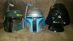 My STAR WARS adult helmets