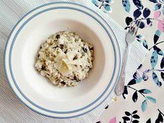 Italské rizoto s houbami - risotto ai funghi // Ochutnejte svět - blog mezinárodní kuchyně