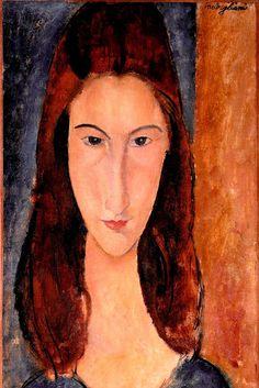 Jeanne Hébuterne - Amedeo Modigliani, 1919