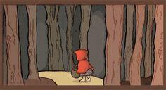#cappuccettorosso #bosco #favola #foresta #libriperbambini #illustrazioni #disegno