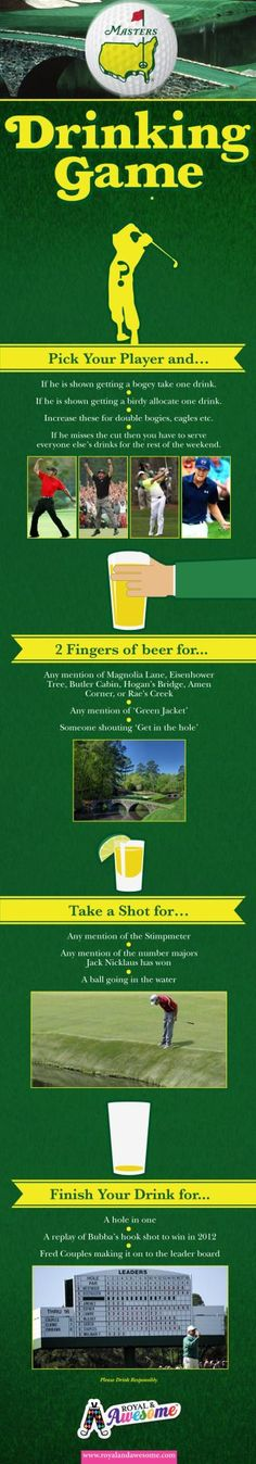 The Masters Drinking Game by http://ift.tt/1oCyqmt