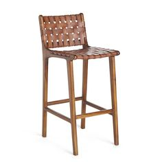 This stool perfectly combines sturdiness and rustic appeal. The Natura Stool provides the security of a strong wooden frame and the aesthetically pleasing design of a woven leather seat. Slide it up to the bar for a natural, down-to-earth polish. Plywood Furniture, Bar Furniture, Design Furniture, Kitchen Furniture, Furniture Online, Furniture Stores, Industrial Furniture, Discount Furniture, Furniture Plans