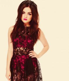 Lucy Hale.