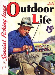 July 1939 Outdoor Life cover.