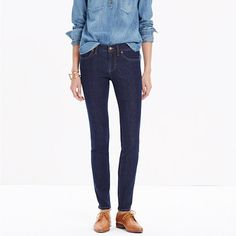 Madewell - Tall Skinny Skinny Jeans in Quincy Wash