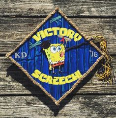 If you need funny graduation quote ideas, Spongebob is the ultimate inspiration. Here are the best spongebob graduation caps we found online. Disney Graduation Cap, Funny Graduation Caps, Graduation Cap Toppers, Graduation Cap Designs, Graduation Cap Decoration, Graduation Diy, Graduation Quotes, Graduation Celebration, Graduation Announcements