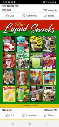 Bartender Drinks, Banana Split, Oreo, Raspberry, Frozen, Mint, Snacks, Bottle, Food