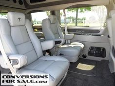 http://www.conversionsforsale.com/4105-2015-ford-transit-150-130-wb-low-roof-explorer-conversion-van/details.html