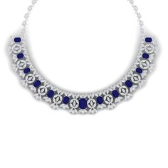 I just discovered this 50.44 CTW Royalty Sapphire & VS Diamond Necklace 18K on LiveAuctioneers and wanted to share it with you: www.liveauctioneers.com/item/58929423