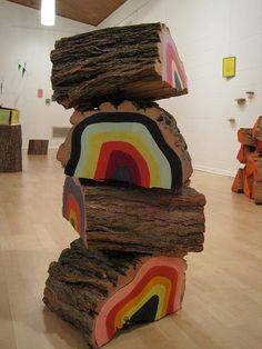 """Rainbow Totem"" by NERS Neonlumberjack"
