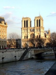 The Notre Dame Cathedral Paris, France