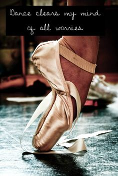 Except I haven't been on pointe in 10 years so its tap, jazz, contemporary and ballroom for me! :-)