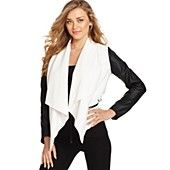 AMAZING fall jacket to add to any wardrobe. Use a bright colored tank underneath to make it POP.