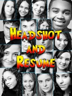 Drama Student's Headshot and Resume #resources
