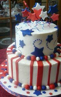 Another cake idea birthday cakes, july birthday, birthday parties, happy birthday Fourth Of July Cakes, July 4th, American Flag Cake, 1st Birthday Cakes, Happy Birthday, July Birthday, Birthday Parties, Military Cake, July Baby