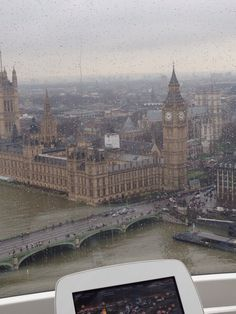 Great views from the London eye