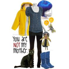 Coraline fashion. Could this lead to a display...?