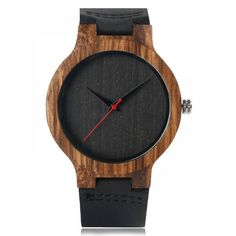 Men's Wooden Watches with Leather Band —-> $ 27.99 & Virtually FREE Shipping Welcome to My Watch Plus Store #giftforhim #mywatchplus #woodenwatches #woodwatch #luxurywatch #dailywatch #fashion #mywatchplus #womenwatch #watchlover #classicwatch #onlineshop #watchcollector Wooden Watches For Men, Vintage Watches, Retro Watches, Casual Watches, Analog Watches, Modern Watches, Creative Birthday Gifts, Wooden Clock, Wooden Boxes