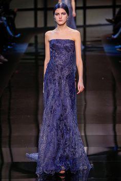 Armani Privé Spring 2014 Couture Fashion Show