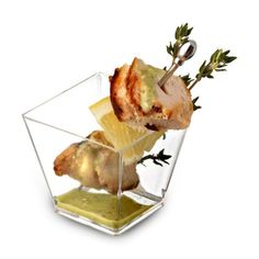 2-oz-Square-Cube-Plastic-Mini-Shot-Glass-Dessert-Cup-Clear-200-Pcs-Party