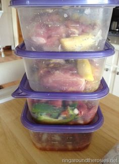 More freezer to crockpot meals