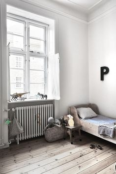 White, Simple, Beautiful Kid's Rooms - Petit & Small
